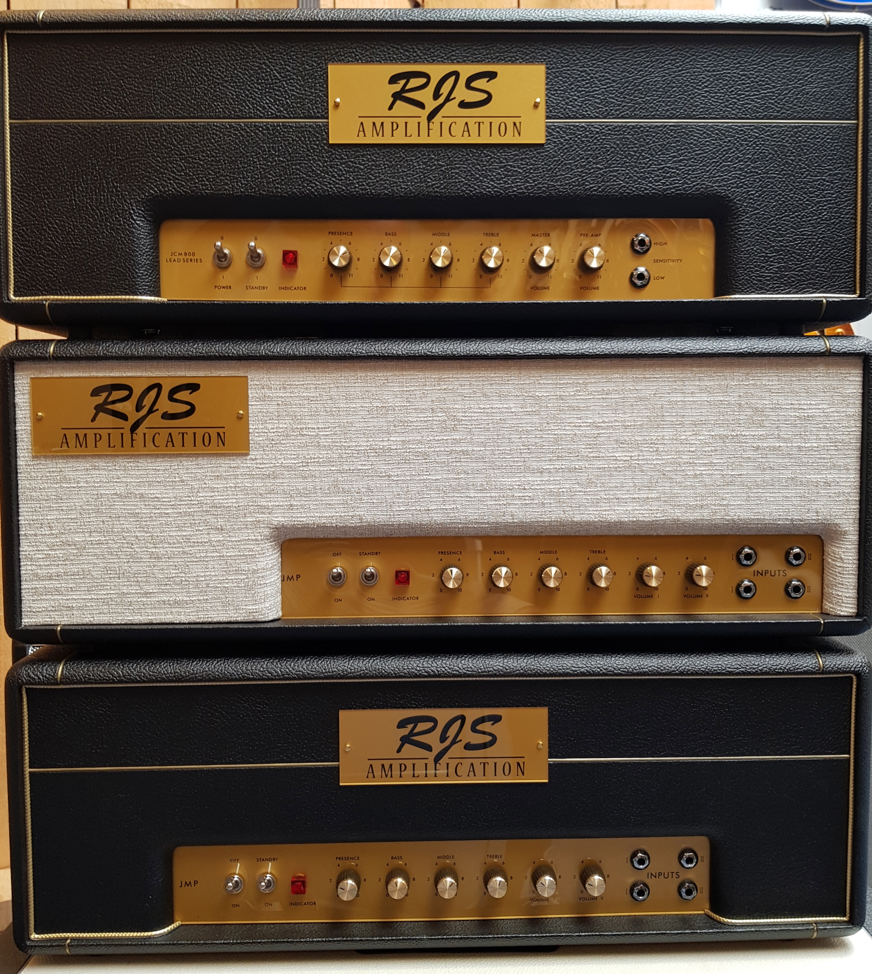 Haarguitars and parts RJS amplification - Haarguitars and parts